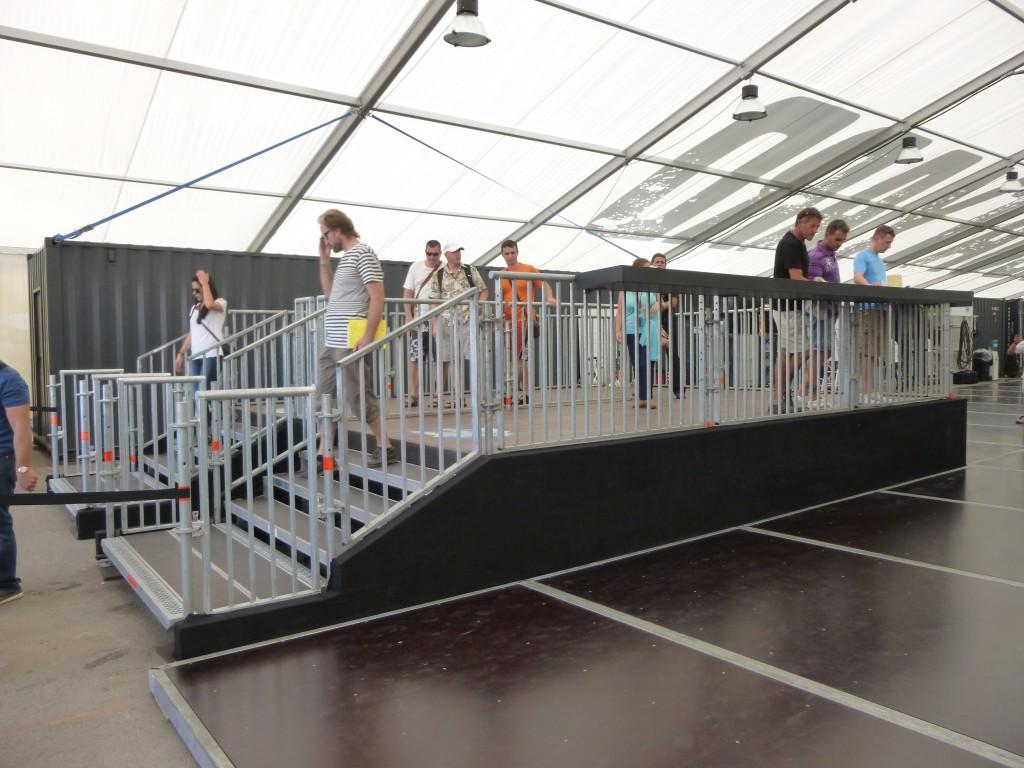 Gigant Boatyard Stage